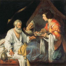 Bernardo (Il Capuccino) Strozzi: Die Segnung Jakobs