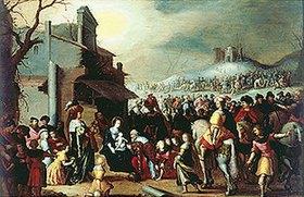 Frans Francken II.: Die Anbetung der Hl. Drei Könige