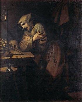 Ludovico (Il Cigoli) Cardi: Büssender Mönch mit Totenkopf