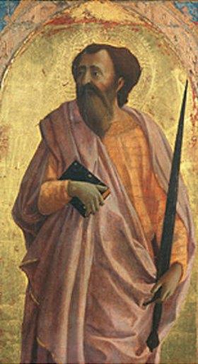 Masaccio: Der Hl. Paulus