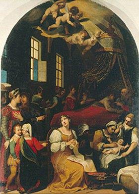 Donato Mascagni: Die Geburt der Maria