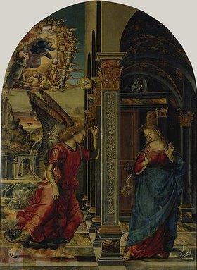 Luca Signorelli: Die Verkündigung Mariae