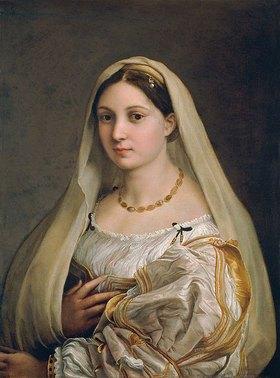 """Raffael (Raffaello Sanzio): Damenbildnis """"La Velata"""""""