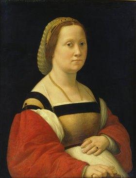 """Raffael (Raffaello Sanzio): Damenbildnis """"La gravida"""""""