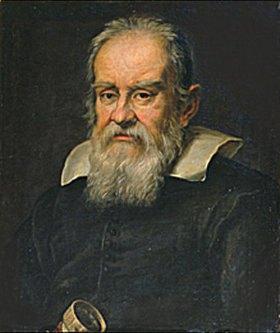 Justus Sustermans: Bildnis Gallileo Galilei. (Schule Sustermans)