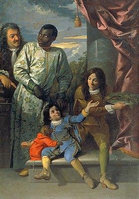 Anton Domenico Gabbiani: Die Familie von Cosimo III. de'Medici