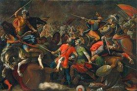 Antonio Tempesta: Schlacht zwischen Reitern und Fussvolk