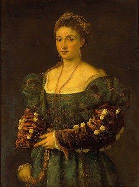 Tizian (Tiziano Vecellio): La Bella