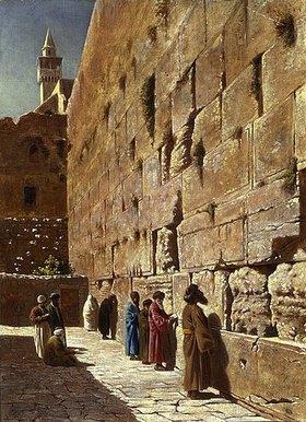 Charles Robertson: An der Klagemauer
