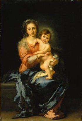 Bartolomé Estéban Murillo: Madonna mit Kind