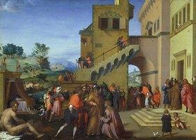 Andrea del (Andrea d'Agnolo) Sarto: Szenen aus dem Leben des Hl. Josef
