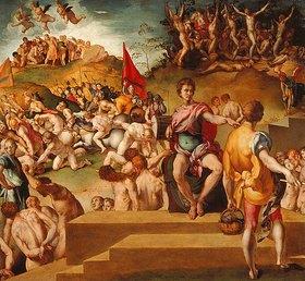 Jacopo Carucci da Pontormo: Das Martyrium der Thebanischen Legion
