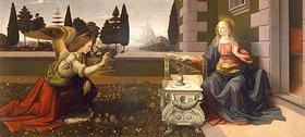 Leonardo da Vinci: Die Verkündigung Mariae
