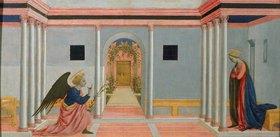 Domenico Veneziano: Die Verkündigung Mariae
