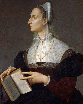 Agnolo Bronzino: Bildnis der Laura Battiferri