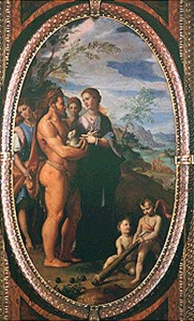 Santi di Tito: Herkules und Iole (oder: Die Entdeckung der Porpora Tiria)