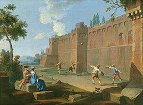 Giuseppe Zocchi: Ballspiel