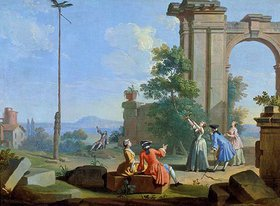 Giuseppe Zocchi: Das Bogenschiessen