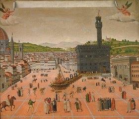 Anonym: Die Verbrennung des Savonarol