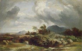 Johann Wilhelm Schirmer: Stürmischer Abend