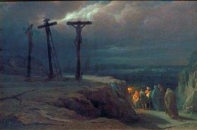 Wassili Werestschagin: Abend über Golgotha
