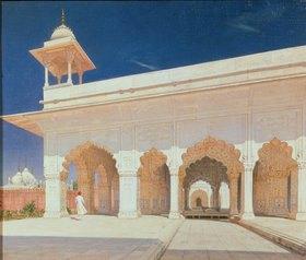 Wassili Werestschagin: Der große Mongolen-Thron von Shah Jahan im Fort Delhi