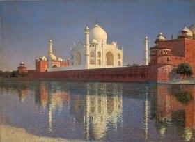 Wassili Werestschagin: Das Mausoleum Tadj-Mahal in Indien