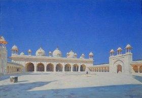 Wassili Werestschagin: Die Perlen- (Mothi-Maschdschid) Moschee in Agra
