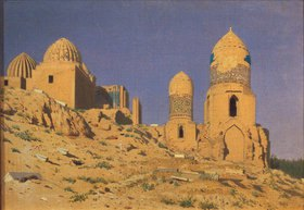 Wassili Werestschagin: Das Shaki-Sindha-Mausoleum in Samarkand