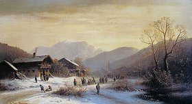 Anton Doll: Winterlandschaft