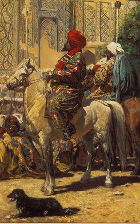 Wassili Werestschagin: Reiter in Samarkand