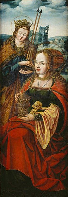 Anton Woensam von Worms: Die Hll. Magdalena und Ursula