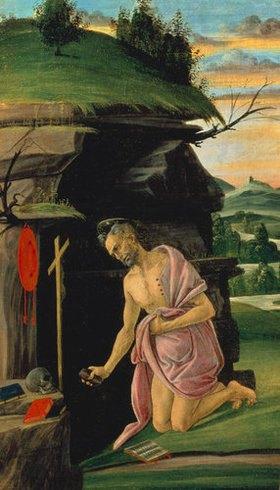 Sandro Botticelli: Der Hl. Hieronymus