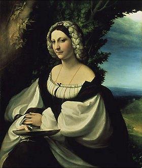 Correggio (Antonio Allegri): Weibliches Bildnis
