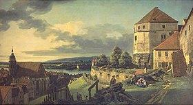 Bernardo (Canaletto) Bellotto: Ansicht von Pirna