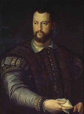 Agnolo Bronzino: Herzog Cosimo de´Medici (1519-1574), Bildnis