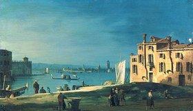 Atelier Canaletto: Blick von San Pietro auf die Insel Murano