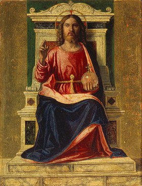Cima da Conegliano: Thronender Christus (Salvator Mundi)