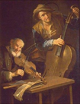 Giacomo Francesco Cipper: Zwei Musikanten
