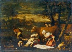 Bassano (Jacopo da Ponte): Das Frühstück der Hirten