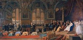 Jean-Léon Gérome: Empfang siamesischer Gesandter im Schloss Fontainebleau