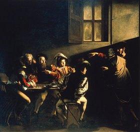 Michelangelo Merisi da Caravaggio: Die Berufung des Hl. Matthäus
