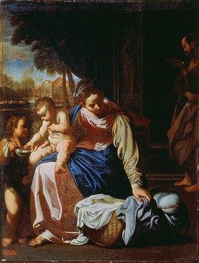 Annibale Carracci: Die Heilige Familie
