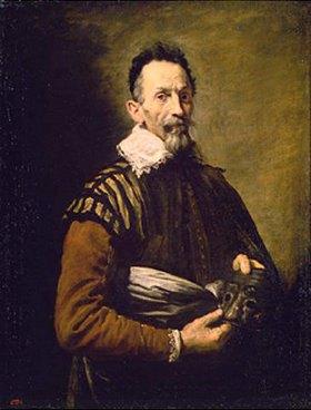Domenico Fetti: Bildnis eines alten Schauspielers