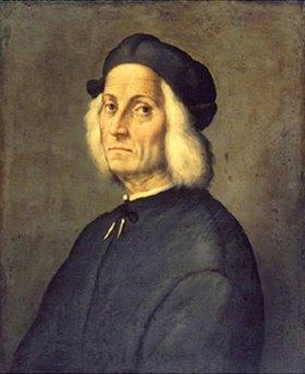 Ridolfo Ghirlandaio: Bildnis eines weisshaarigen Mannes