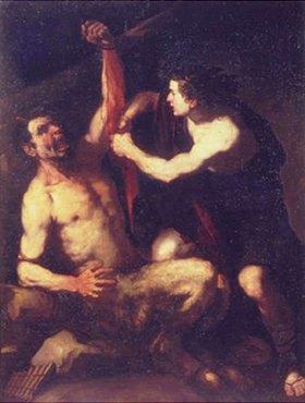 Luca (Fa Presto) Giordano: Apollo und Marsyas