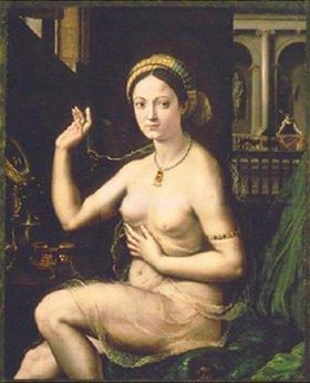 Giulio Romano (Giulio Pippi): Dame bei ihrer Toilette