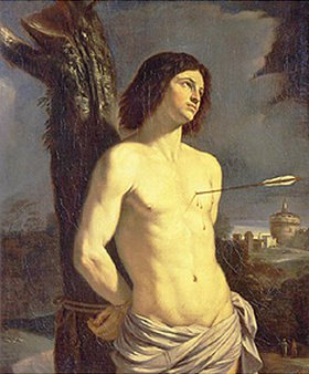 G. Francesco (Guercino) Barbieri: Der Hl. Sebastian