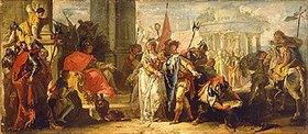 Francesco Fontebasso: Die Grossmut des Scipio