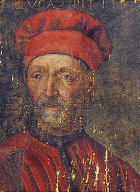 Florentinisch: Bildnis des Luca Pitti (1394-1472). 2. Hälfte 16. Jhd